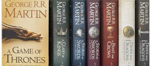 Os livros publicados de ''Game of Thrones''