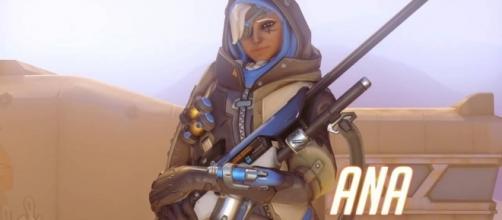 'Overwatch' hero Ana. (image source: YouTube/PlayOverwatch)