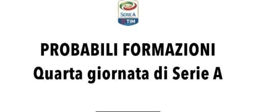 Probabili formazioni Serie A: 4° giornata - radiogoal24.it