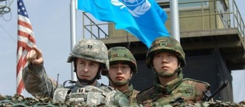 Republic of Korea (ROK) and United States (U.S.) soldiers (Credit - Edward N. Johnson – wikimediacommons)