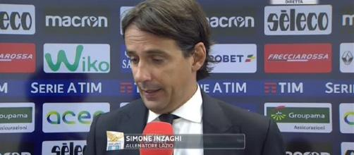 Simone Inzaghi, allenatore della Lazio