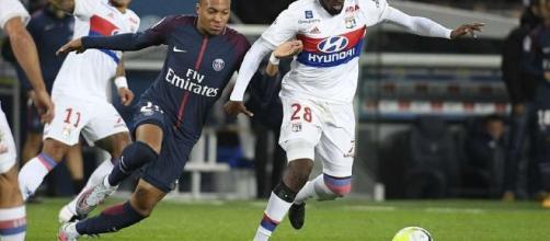 Tanguy Ndombélé a livré une prestation XXL face au PSG de Kylian Mbappé (source : RTL)