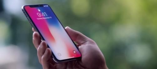 The iPhone X | credit, Apple, YouTube screenshot