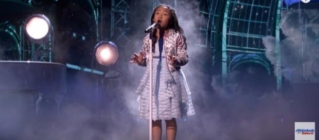 Celine Tam's performance, Image Credit: America's Got Talent / YouTube