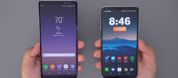 Samsung Galaxy Note 8 vs LG V30: Which One Should YOU Buy? -Image- YouTube/CLE Tech