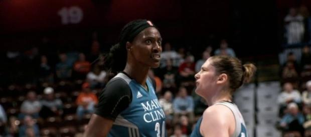 The Minnesota Lynx grabbed a 20-point win over the Washington Mystics for Tuesday's Game 1 of the WNBA semifinals. [Image via WNBA/YouTube]