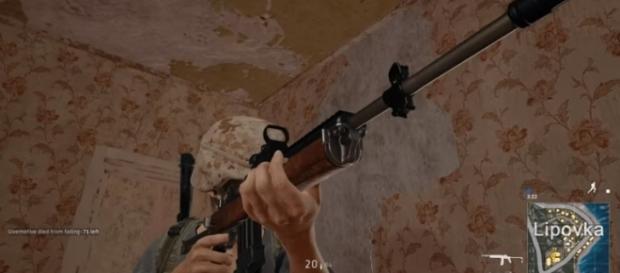 The new Mini-14 in 'PlayerUnknown's Battleground.' - YouTube/PsiSyn