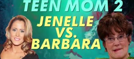 Jenelle Evans is upset after losing Jace's custody battle to mom, Barbara./Pictured via MTV Australia, YouTube