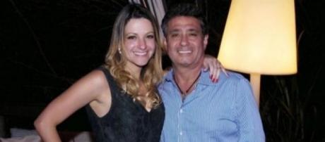 Ricardo Saud junto com sua esposa