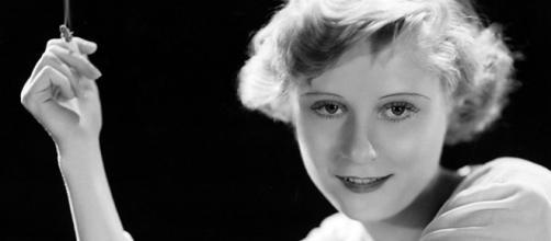 A trágica atriz Peg Entwistle.