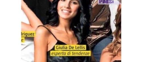"Giulia De Lellis è un ""esperta di tendenze"" sulla copertina di Tv ... - bitchyf.it"