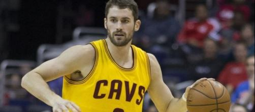 Kevin Love will most likely stay in Cleveland. -- Image Credit: Keith Allison / Flickr