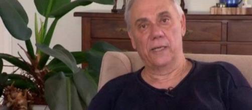 Marcelo Rezende foi internado às pressas