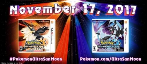 The upcoming 3DS games for the 7th generation of Pokemon games. (via YouTube/The Official Pokémon YouTube Channel)