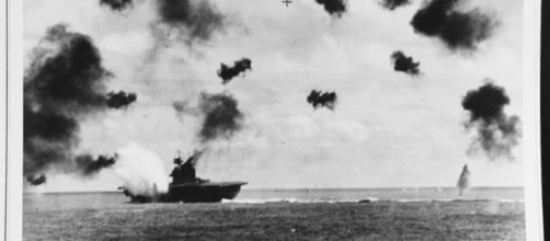 USS Yorktown at Midway (United States Navy)