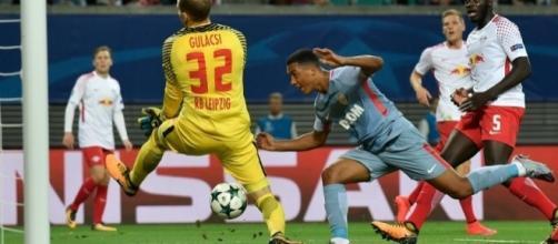 VIDÉOS - Leipzig-Monaco : les buts de Forsberg et Tielemans - rtl.fr