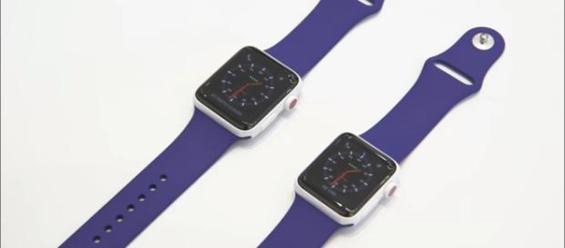 Apple watch series 3, https://www.youtube.com/watch?v=xtXbnLe64jw&t=43s