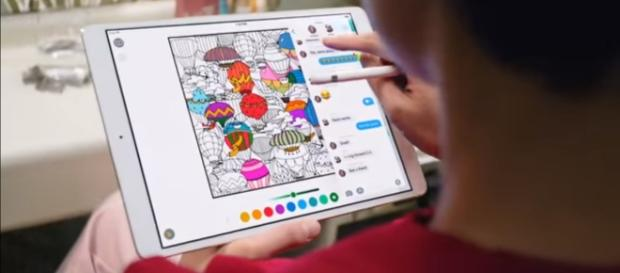 Apple's Ipad Pro is claimed to have the world's most advanced display. (via Apple/Youtube)