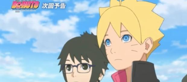 Boruto and others on a field trip. (Dark Aces / YouTube)