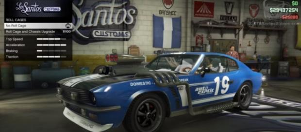 'GTA 5 Online' gets the new classic sports car in this week's update. GTA Series Videos/YouTube