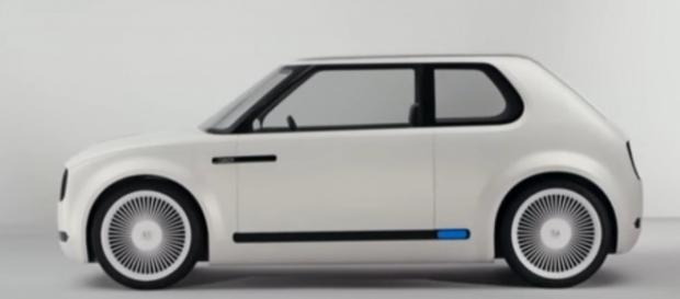 Honda Urban EV Concept. Photo by www.youtube.com/DarrellEtherington