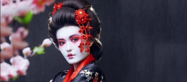 La belleza de las Geishas salta a la vista