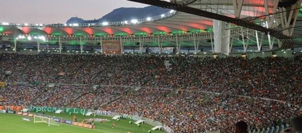 MAracanã estará tomado pela torcida do Fluminense na quinta (Foto: Globoesporte)