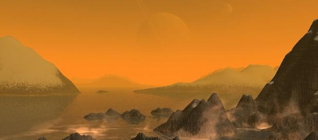 NASA's Cassini collects rare data of Saturn's moon Titan Wikimedia Commons/Stan Richard