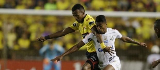 Santos empatou em 1 a 1 com o Barcelona