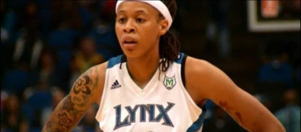 Seimone Augustus looks to lead the Minnesota Lynx to a 2-0 series lead on Thursday night. [Image via WNBA/YouTube]