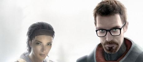 Alyx Vance and Gordon Freeman in Half-Life 2 (source: Flickr)