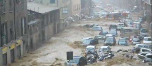Alluvione Italia, inondazione di un intera città