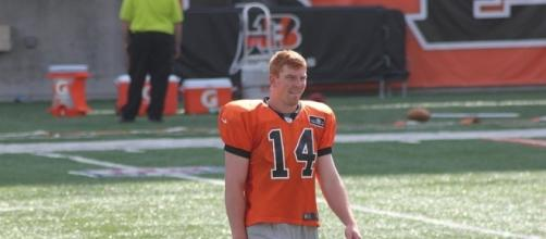 Andy Dalton of the Cincinnati Bengals (Wikimedia Commons/Navin75)