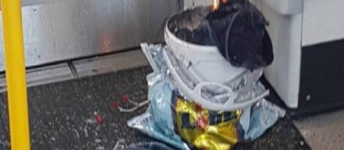 Artefacto causante de la destrucción producida en el metro de Londres.