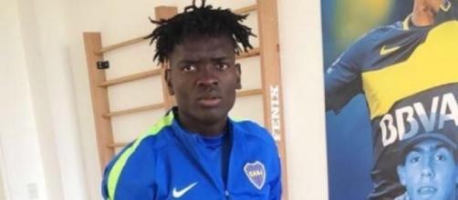 Christian Mayo est Camerounais mais joue en Argentine, à Boca Juniors - africatopsports.com