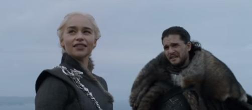 Daenerys Tagrgaryen and Jon Snow - Image Credit: YouTube screenshot