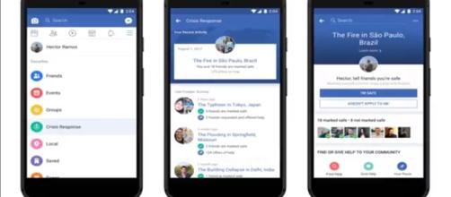 Facebook's crisis response center is the integrated hub for Community Help, Safety Check, and Fundraisers. (via BuzzFreshNews/Youtube)