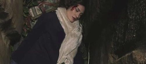 Il Segreto, Camila cade in un pozzo