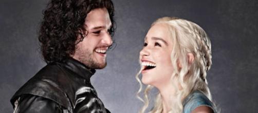 Jon Snow e Daenerys Targaryen del Trono di Spade