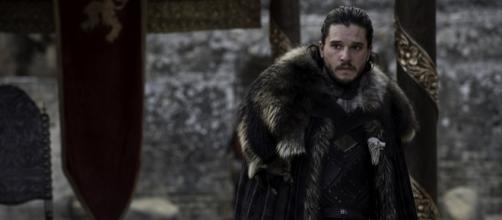 Jon Snow no último episódio da sétima temporada de Game of Thrones