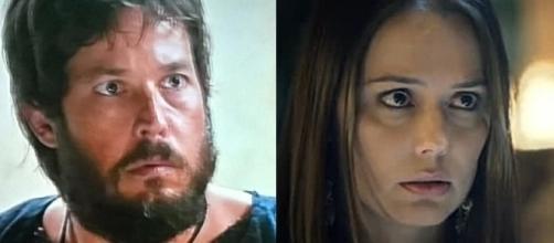 'O Rico e Lázaro': Absalom salva Dana após a mesma cair no canal