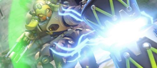 'Overwatch' hero Orisa. (image source: YouTube/Konshu)
