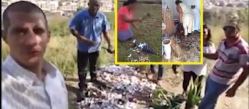 Pastor é indiciado por destruir imagens de um terreiro na Baixada Fluminense (Foto: Captura de vídeo)