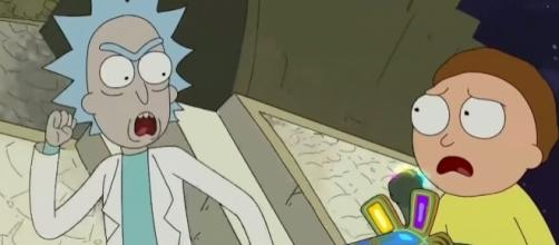 Rick and Morty are up for another adventure but what they got has a great effect on Morty. Photo via Screengrab RickandMorty/Youtube