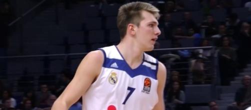 Slovenian sensation Luka Doncic (via YouTube - EUROLEAGUE BASKETBALL)