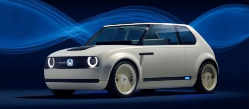 The Honda Urban EV Concept was among the showstoppers at the 2017 Frankfurt Motor Show (Alphr/Twitter).