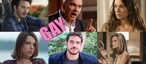 Um dos personagens da trama vai se assumir gay