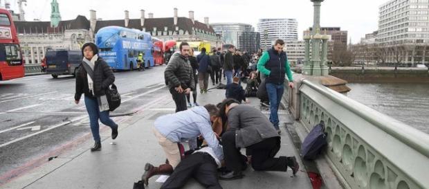Ataque terrorista no metro na cidade de Londres