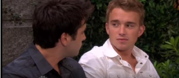 Days of our Lives: Sonny and Will (Image via YouTube screengrab/NBC)