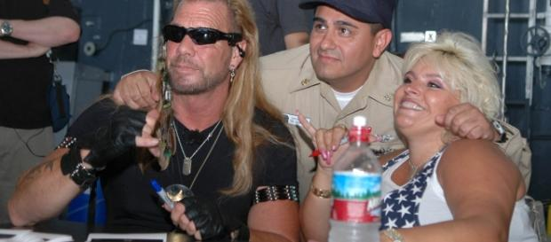 Dog the Bounty Hunter Duane Chapman's wife Beth battling Stage 2 throat cancer. Photo Credit: Wikimedia Commons
